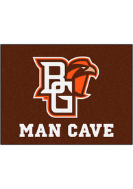 Bowling Green Falcons 34x42 Man Cave All Star Interior Rug