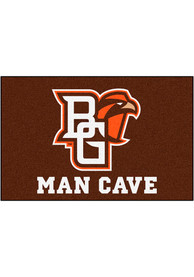 Bowling Green Falcons 19x30 Man Cave Starter Interior Rug