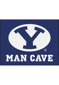 BYU Cougars 34x42 Man Cave All Star Interior Rug