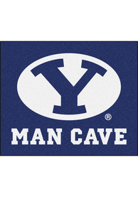 BYU Cougars 60x71 Man Cave Tailgater Mat Outdoor Mat