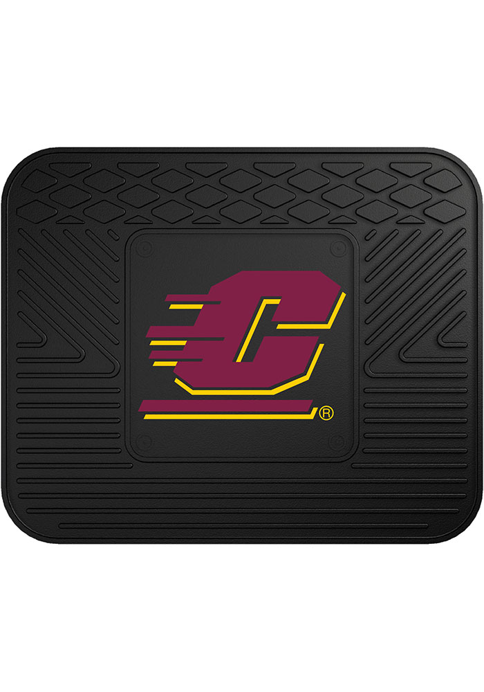 Sports Licensing Solutions Central Michigan Chippewas 14x17 Utility Car Mat - Black - Image 1