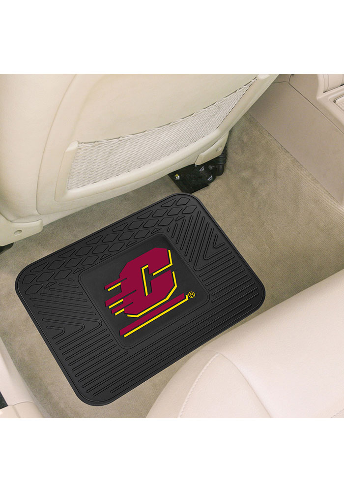 Sports Licensing Solutions Central Michigan Chippewas 14x17 Utility Car Mat - Black - Image 2