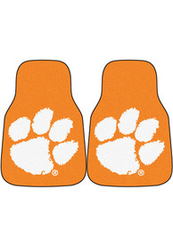 Sports Licensing Solutions Clemson Tigers 2-Piece Carpet Car Mat - Orange