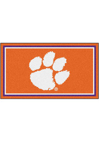 Clemson Tigers 3x5 Plush Interior Rug