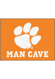 Clemson Tigers 34x42 Man Cave All Star Interior Rug