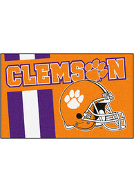 Clemson Tigers 19x30 Uniform Starter Interior Rug