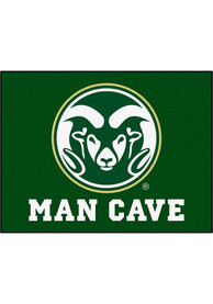 Colorado State Rams 34x42 Man Cave All Star Interior Rug