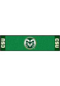 Colorado State Rams 18x72 Putting Green Runner Interior Rug