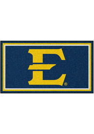 East Tennesse State Buccaneers 3x5 Plush Interior Rug