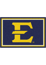 East Tennesse State Buccaneers 5x8 Plush Interior Rug