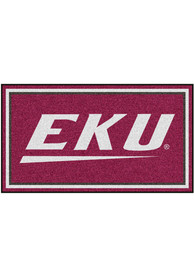 Eastern Kentucky Colonels 3x5 Plush Interior Rug
