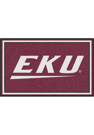 Eastern Kentucky Colonels 4x6 Plush Interior Rug