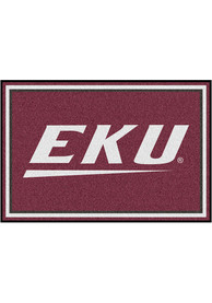Eastern Kentucky Colonels 5x8 Plush Interior Rug
