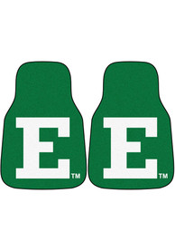 Sports Licensing Solutions Eastern Michigan Eagles 2-Piece Carpet Car Mat - Green