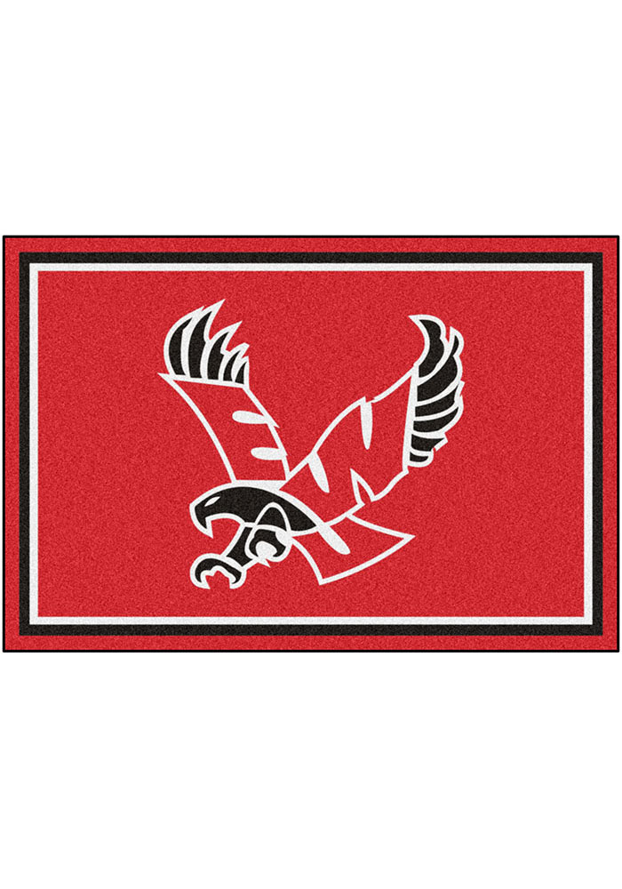 Eastern Washington Eagles 5x8 Plush Interior Rug - Image 1