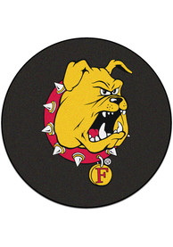 Ferris State Bulldogs 27 Hockey Puck Interior Rug