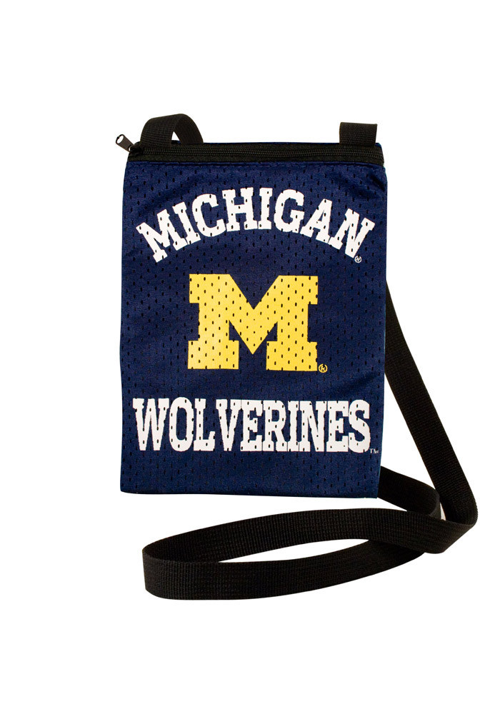 Michigan Wolverines Gameday Pouch Womens Purse - Image 1