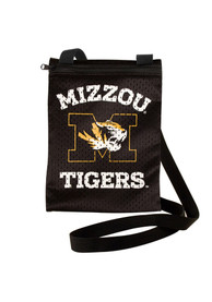 Missouri Tigers Womens Gameday Pouch Purse - Black