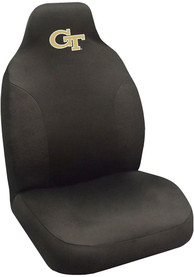 Sports Licensing Solutions GA Tech Yellow Jackets Team Logo Car Seat Cover - Black