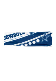 Dallas Cowboys Womens Stretch Patterned Headband - Navy Blue