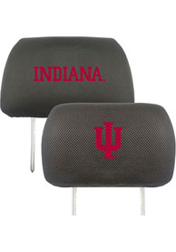 Sports Licensing Solutions Indiana Hoosiers 10x13 Auto Head Rest Cover - Black