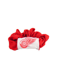 Detroit Red Wings Youth Twist Hair Scrunchie - Red