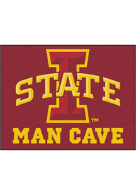 Iowa State Cyclones 34x42 Man Cave All Star Interior Rug