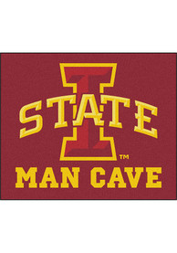 Iowa State Cyclones 60x71 Man Cave Tailgater Mat Outdoor Mat