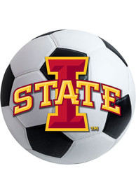 Iowa State Cyclones 27 Soccer Ball Interior Rug