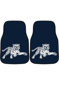 Sports Licensing Solutions Jackson State Tigers 2-Piece Carpet Car Mat - Navy Blue
