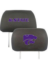 Sports Licensing Solutions K-State Wildcats 10x13 Auto Head Rest Cover - Black