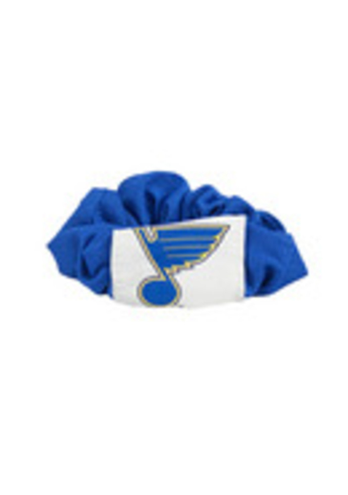 St Louis Blues Twist Youth Hair Scrunchie - Image 3