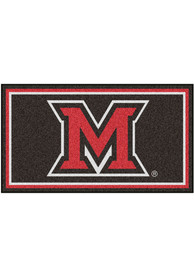 Miami RedHawks 3x5 Plush Interior Rug