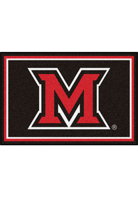 Miami RedHawks 5x8 Plush Interior Rug
