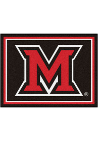 Miami RedHawks 8x10 Plush Interior Rug