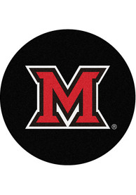 Miami RedHawks 27 Hockey Puck Interior Rug