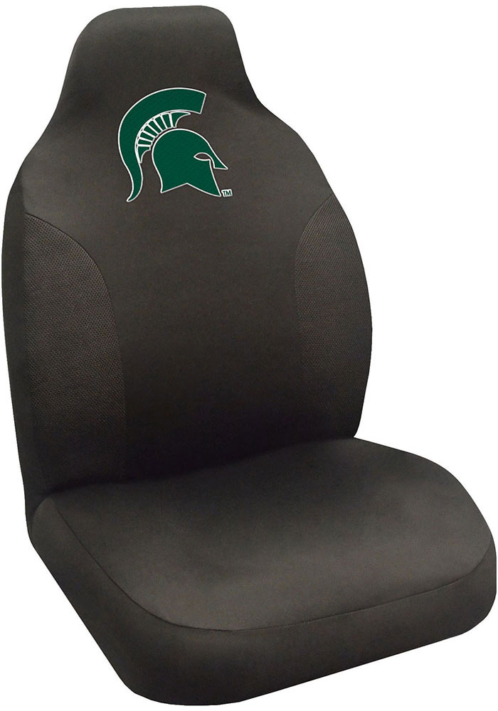 Sports Licensing Solutions Michigan State Spartans Team Logo Car Seat Cover - Black - Image 1