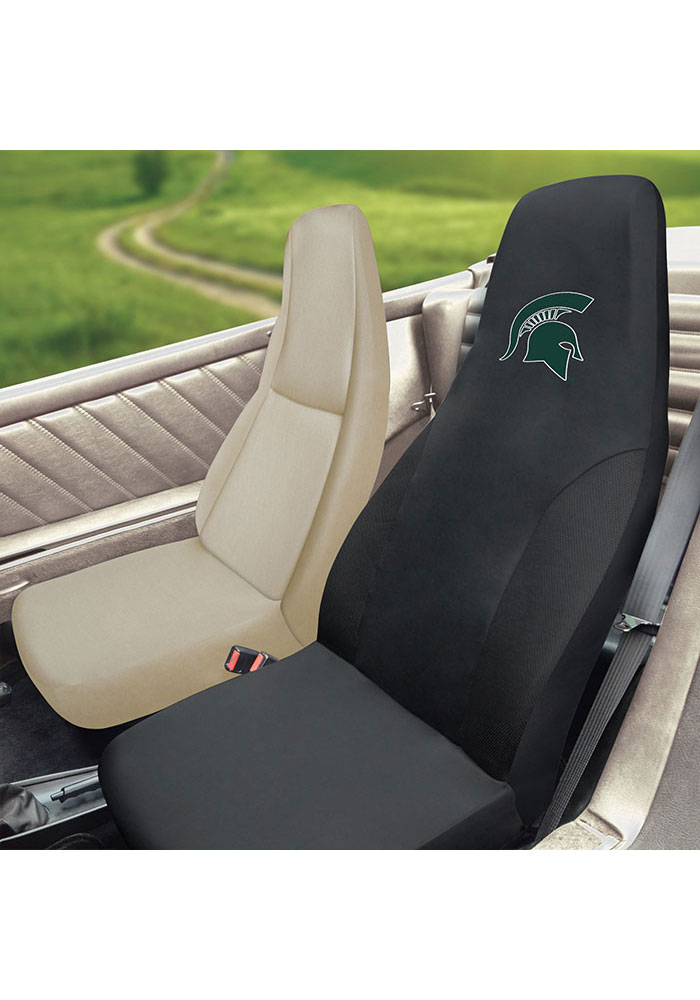 Sports Licensing Solutions Michigan State Spartans Team Logo Car Seat Cover - Black - Image 2