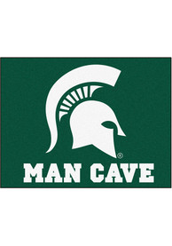 Michigan State Spartans 34x42 Man Cave All Star Interior Rug