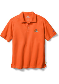 Cleveland Browns Tommy Bahama Emfielder Polo Shirt - Orange