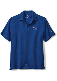 Kansas Jayhawks Tommy Bahama Al Fresco Dress Shirt - Blue