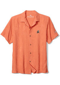 Cleveland Browns Tommy Bahama Al Fresco Dress Shirt - Orange