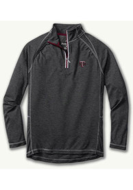 Texas A&M Aggies Tommy Bahama Firewall 1/4 Zip Pullover - Charcoal