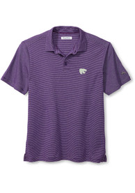 K-State Wildcats Tommy Bahama Sport Pacific Shore Polo Shirt - Purple