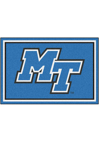Middle Tennessee Blue Raiders 5x8 Plush Interior Rug