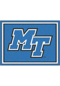 Middle Tennessee Blue Raiders 8x10 Plush Interior Rug