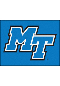 Middle Tennessee Blue Raiders 34x42 Starter Interior Rug
