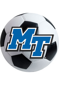 Middle Tennessee Blue Raiders 27 Soccer Ball Interior Rug