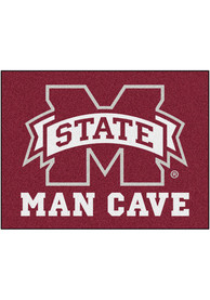 Mississippi State Bulldogs 34x42 Man Cave All Star Interior Rug
