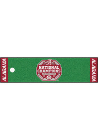 Alabama Crimson Tide 2020 National Champions Putting Green Interior Rug